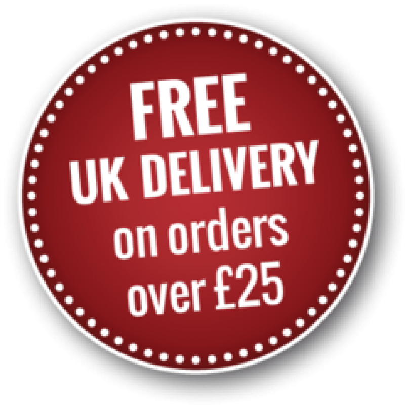 Free Shipping Over £25 Square