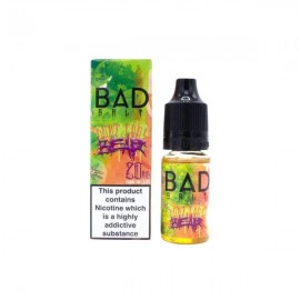 ♦ 3 for £12 ♦ Bad Drip Nic Salts - Dont Care Bear - Sweet  candy, melon, peach and pear