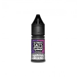 10MG Ultimate Puff Salts Candy Drops 10ML Flavoured Nic Salts - Flavour: Grape and Strawberry