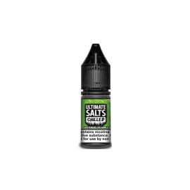 10MG Ultimate Puff Salts Chilled 10ML Flavoured Nic Salts (50VG/50PG) - Flavour: Watermelon Apple