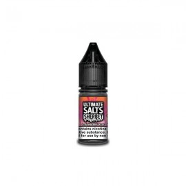 10MG Ultimate Puff Salts Sherbet 10ML Flavoured Nic Salts (50VG/50PG) - Flavour: Strawberry Laces