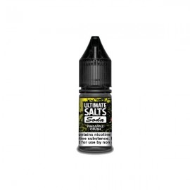 10MG Ultimate Puff Salts Soda 10ML Flavoured Nic Salts (50VG/50PG) - Flavour: Pineapple Crush