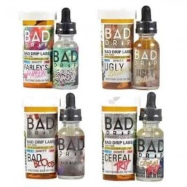 Bad Drip 0mg 50ml Shortfill (80VG/20PG) - Flavour: Dont care Bear Iced Out