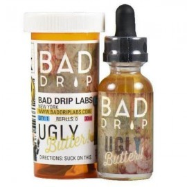Bad Drip 0mg 50ml Shortfill (80VG/20PG) - Flavour: Ugly Butter