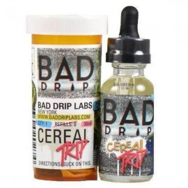 Bad Drip 0mg 50ml Shortfill (80VG/20PG) - Flavour: Cereal Trip