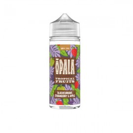 Opala 100ml Shortfill 0mg (70VG/30PG) - Flavour: Blackcurrant Strawberry and Apple