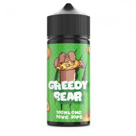 Greedy Bear 100ml Shortfill 0mg (70VG/30PG) - Flavour: Cookie Cravings
