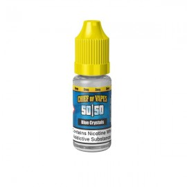 Chief of Vapes 6mg 10ML E-Liquids (50VG/50PG) - Flavour: Blue Crystals