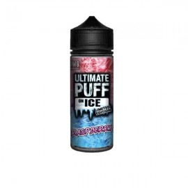Ultimate Puff On Ice 0mg 100ml Shortfill (70VG/30PG) - Flavour: Raspberry