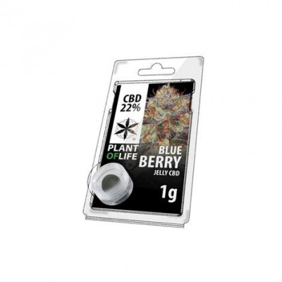 CBD 1g Jelly Blue Berry 22%