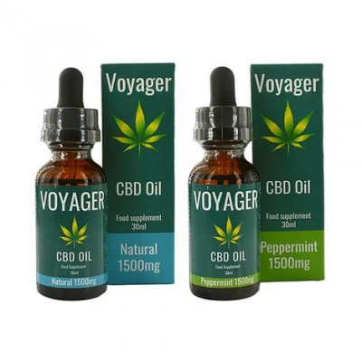 Voyager 1500mg CBD Oil 30ml