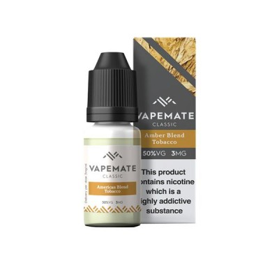 Vapemate Classic - 10ml - Amber Blend Tobacco
