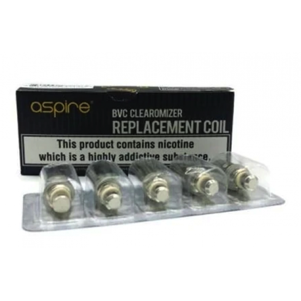Aspire BVC Replacement Coils - Pack of 5