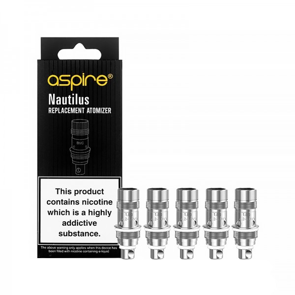 Aspire Nautilus BVC Replacement Coils - Pack of 5