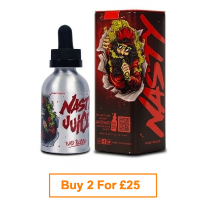 Nasty Juice E-Liquid 50ml - Bad Blood