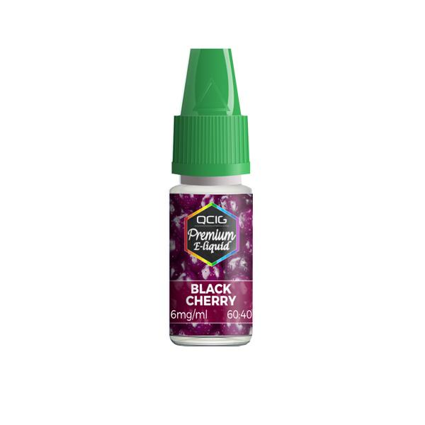 QCig Premium - 10ml - Black Cherry