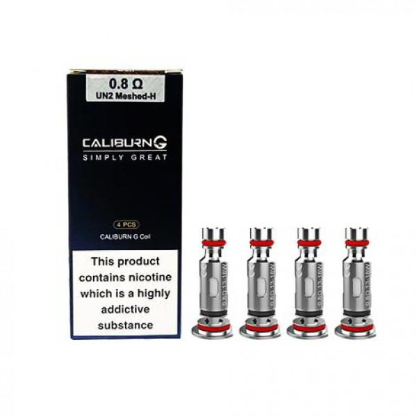 Uwell Caliburn G Replacement Coils - 4 Pack