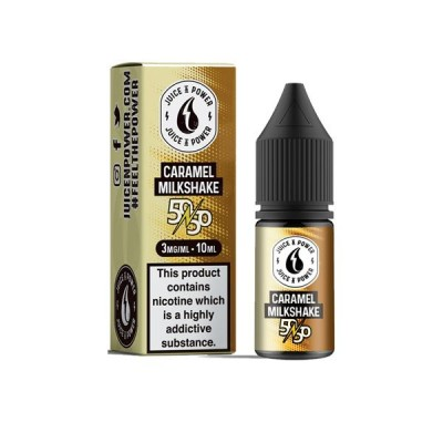 Juice N' Power 10ml - Caramel Milkshake