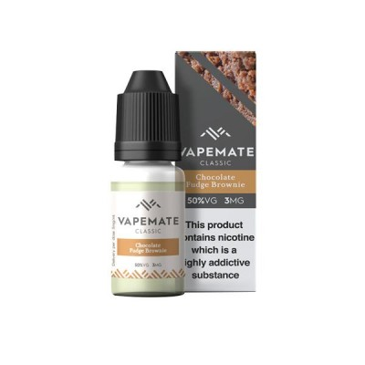 Vapemate Classic - 10ml - Chocolate Fudge Brownie
