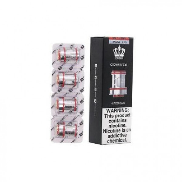 Uwell Crown IV Replacement Coils - 4 Pack