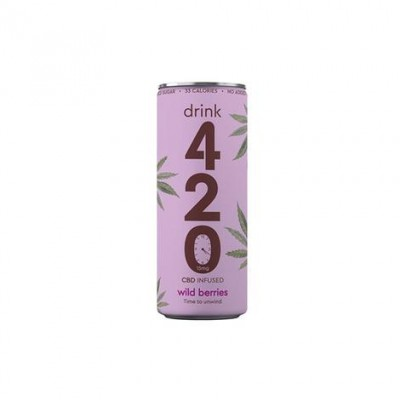 Drink 420 CBD 15mg Infused Sparkling Drink - Wild Berries