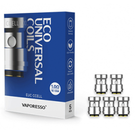 Vaporesso ECO Universel EUC CCELL Coil - 0.1ohm - 5 Pack