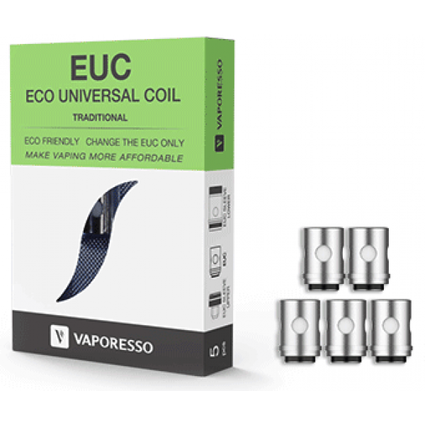 Vaporesso EUC Universal Coil - Traditional - 0.5ohm - 5 Pack