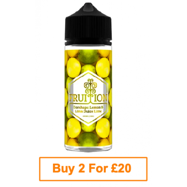 Fruition E-Liquid 100ml -  Dorshapo Lemon & Lima Dulce Lime
