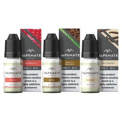 Vapemate Classic - 10ml - Mixed Box