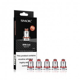 Smok RPM Replacement Coils 0.4 ohm Mesh - 5 Pack