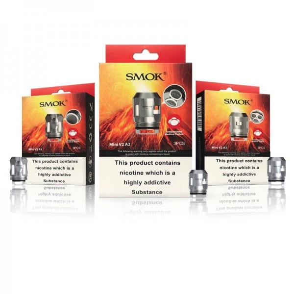 Smok TFV Mini V2 S2 Replacement Coils 0.15ohm - 5 Pack