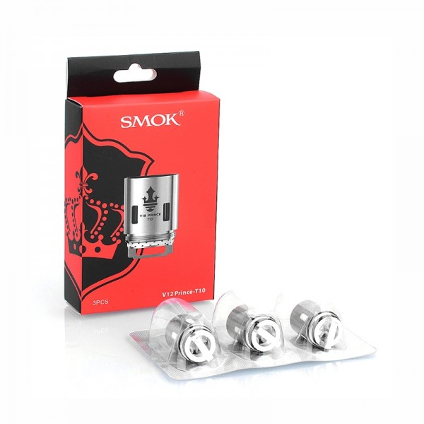 Smok TFV12 Prince T10 Replacement Coils 0.12ohm - 3 Pack