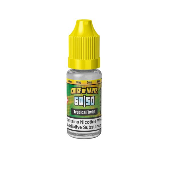 Chief of Vapes 10ml - Tropical Twist