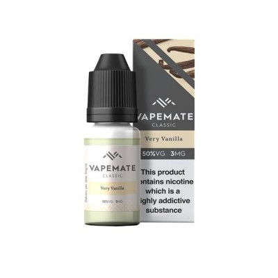 Vapemate Classic - 10ml - Very Vanilla