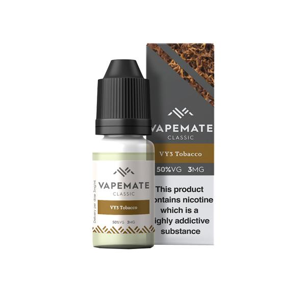 Vapemate Classic - 10ml - VY3 Tobacco