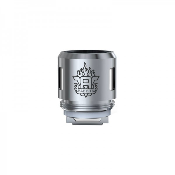 SMOK TFV8 Baby Coils T6 Core 0.2ohm - 5 Pack