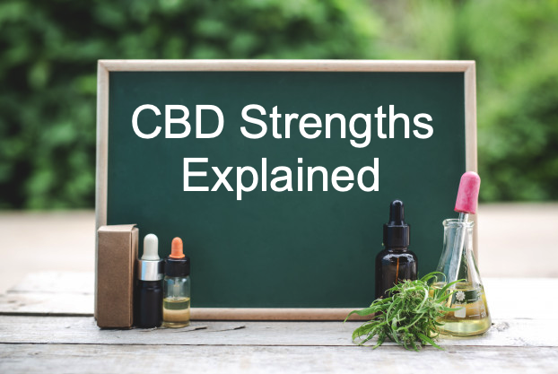CBD Strengths Expalined