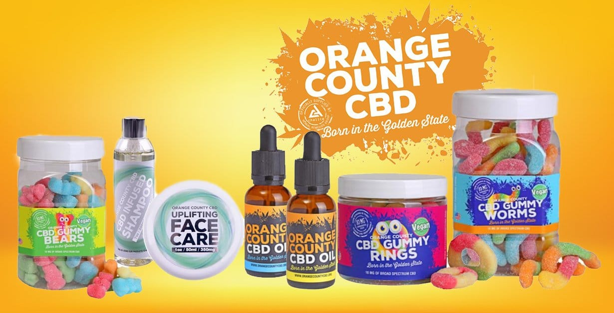 Orange County CBD 10mg Gummy Bears - Small Pack - Available from Mighty Vape