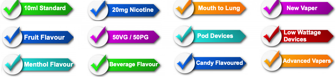 20mg nic salt fruit menthol beverage flavour